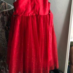 Red night dress